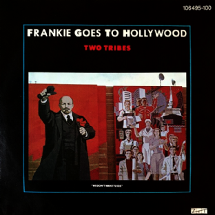 "Frankie Goes To Hollywood ‎- Two Tribes (7"") (VG+/VG) (1)"